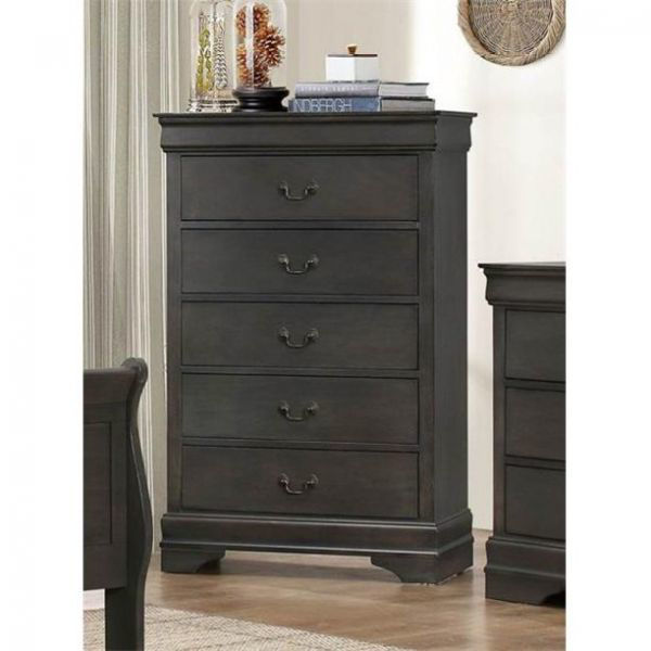 Picture of MAYVILLE GRAY 5-DRWR CHEST