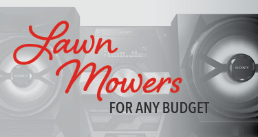 Lawn mowers for any budget