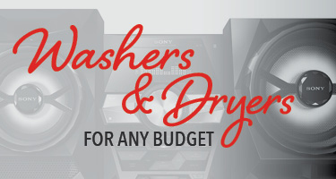 Washer and dryers for any budget