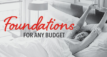 Foundations for any budget