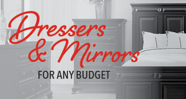 Dressers and mirrors for any budget