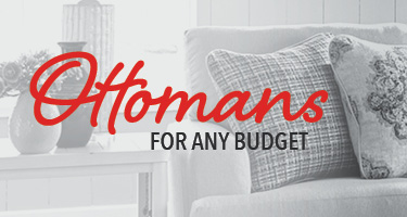 Ottomans for any budget