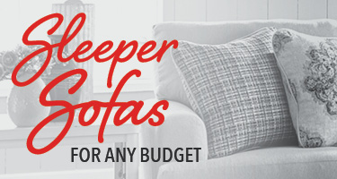Sleeper sofas for any budget